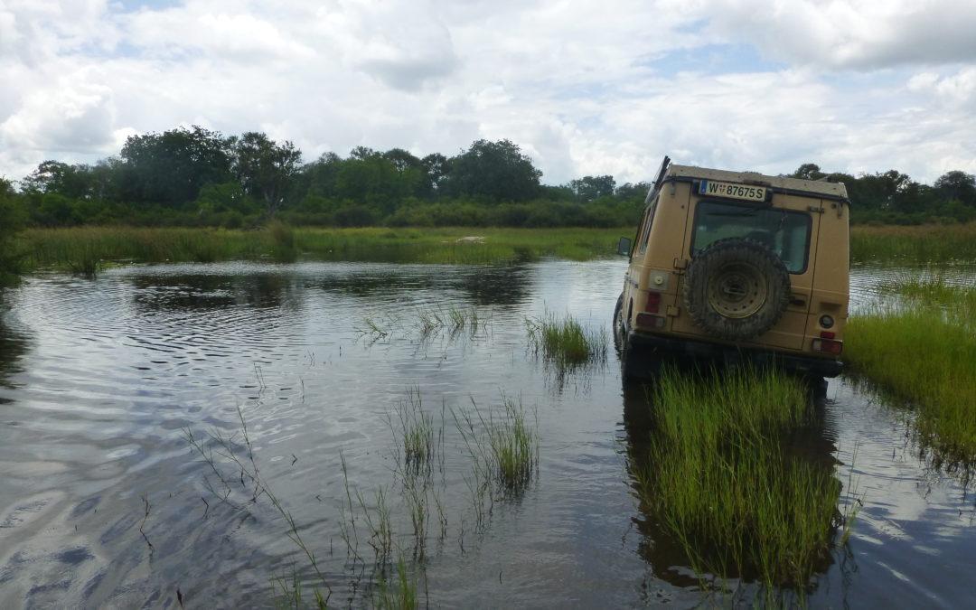 4×4 Abenteuerreise: Baden in Afrika