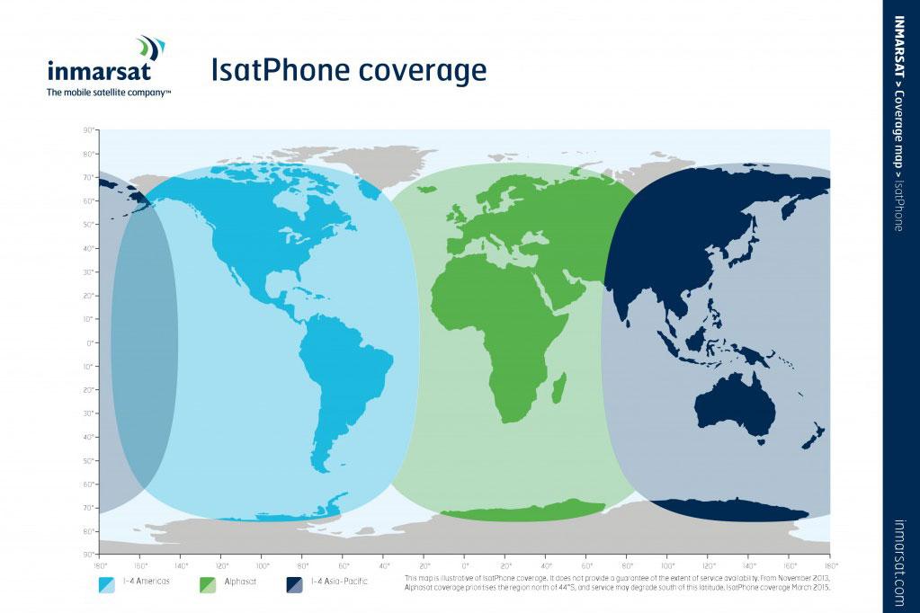 Telefonieren mit Satellitentelefon 2
