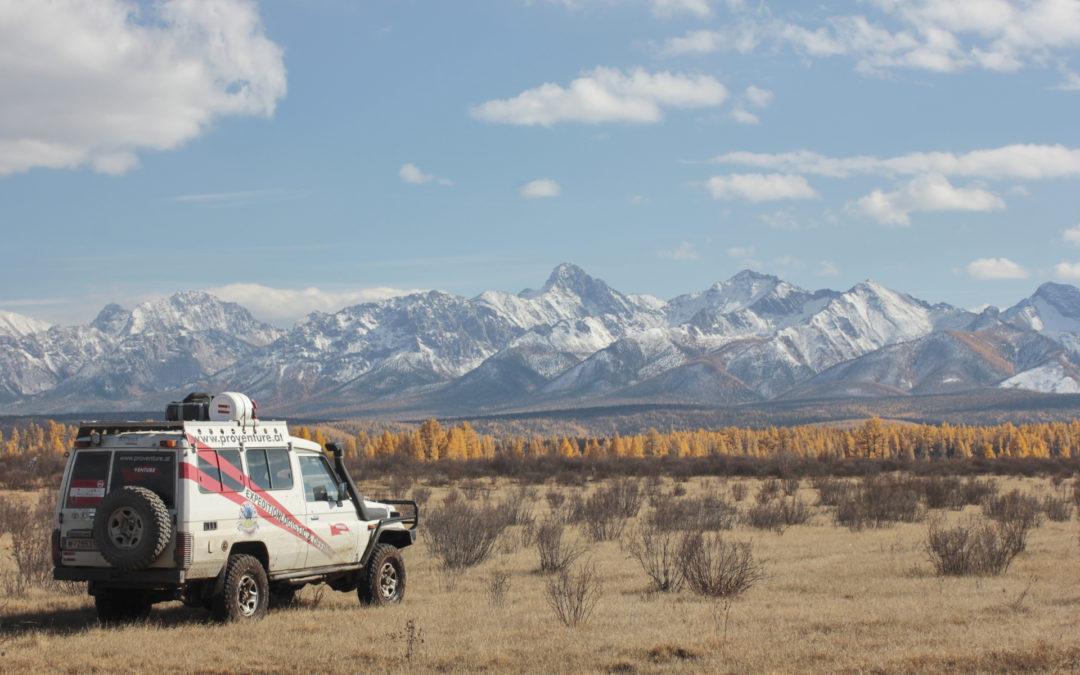 4×4 Abenteuerreise: Ein Tag in der Mongolei