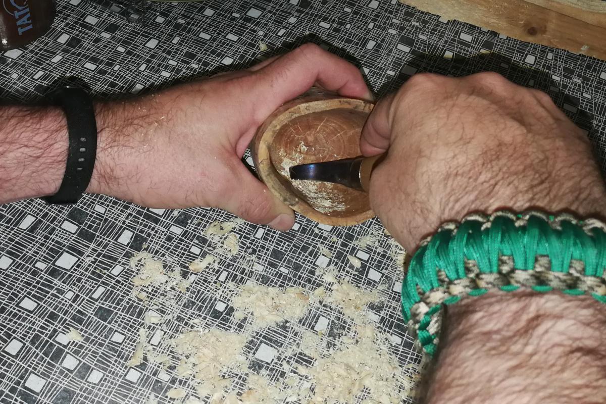 Löffelmesser für Becher
