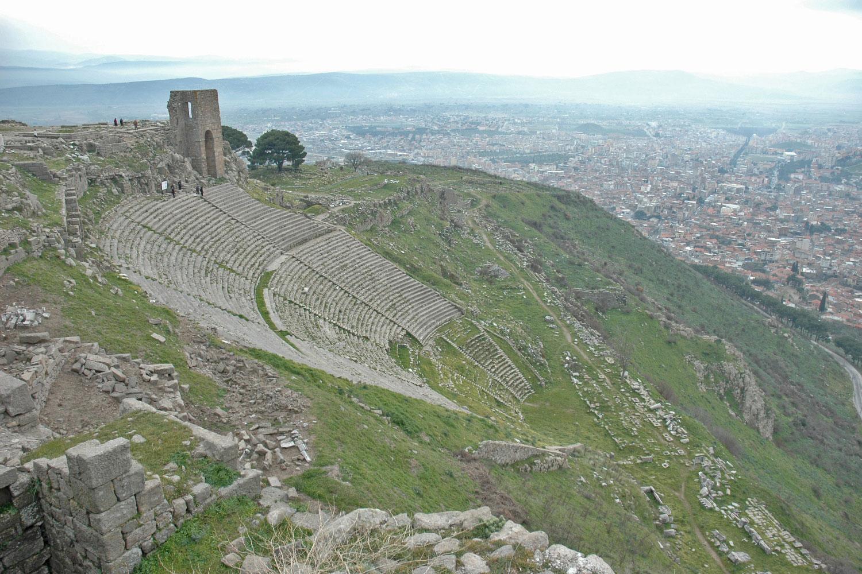 Theater Pergamon Türkei