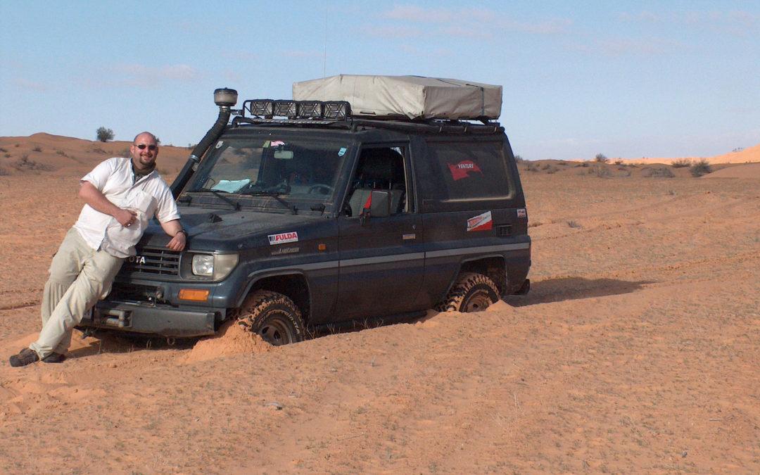 Bergetechniken für die Wüste