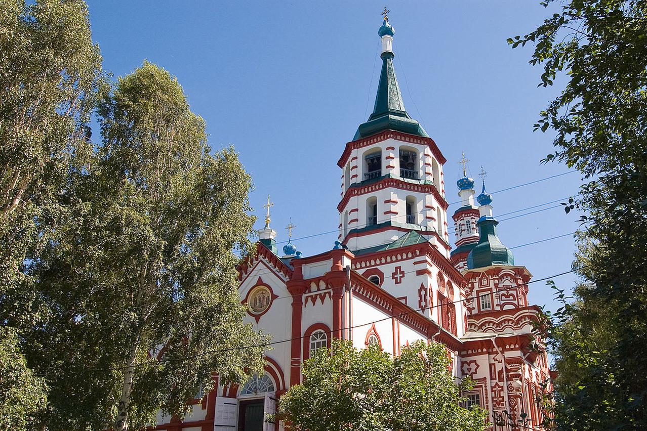 Orthodoxe Kirche Irkutsk