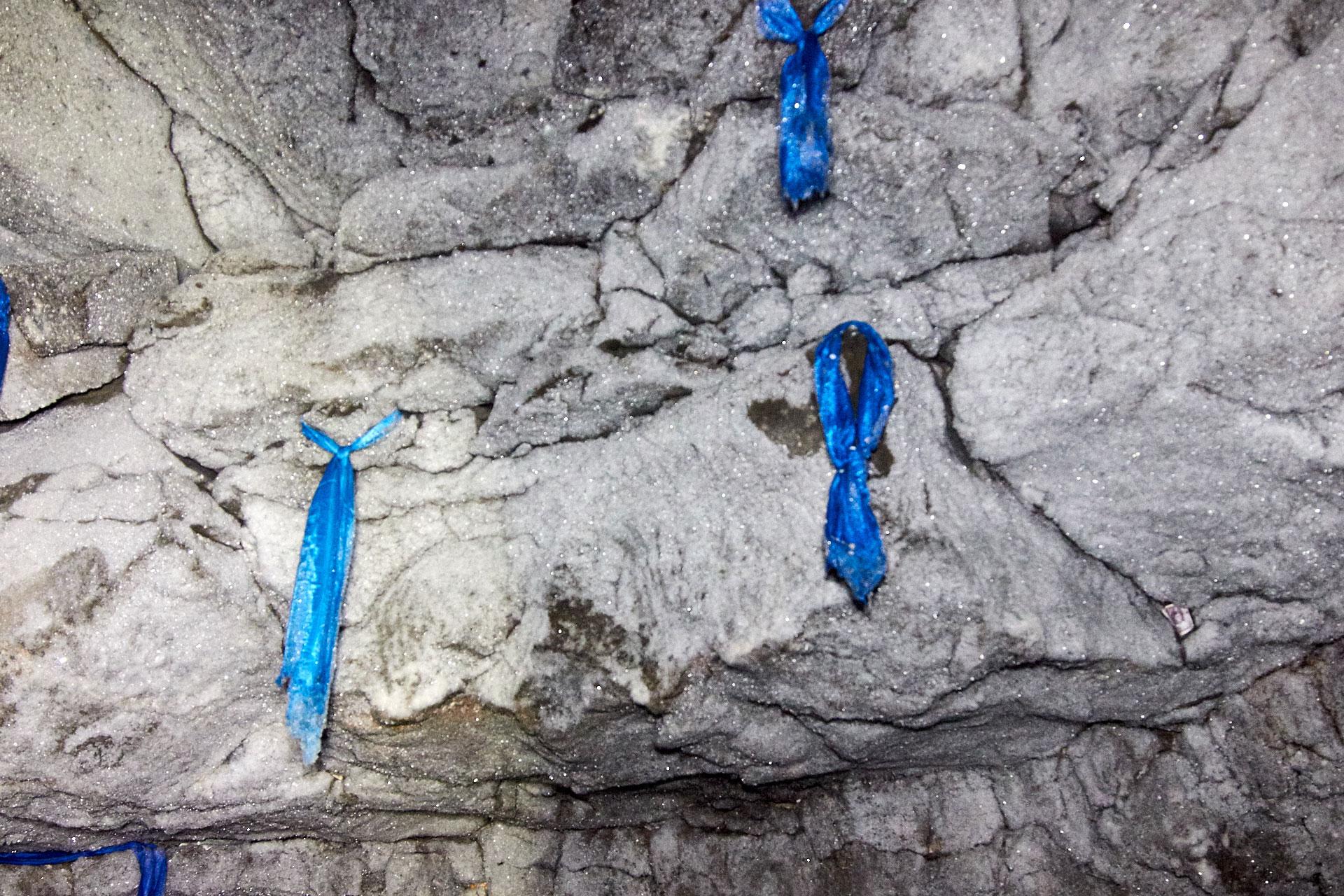 Eishöhle Detail