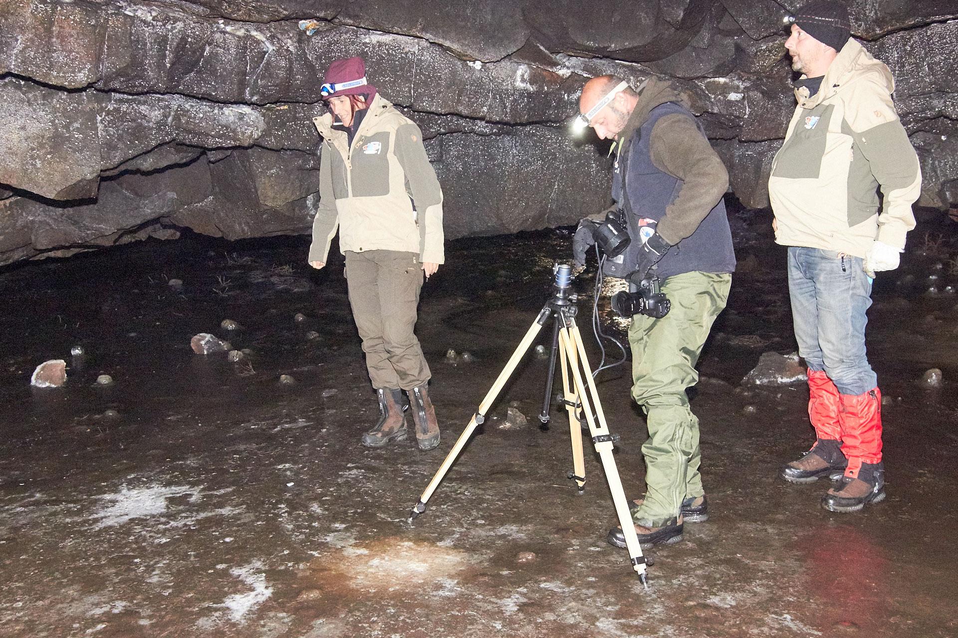 Kalte Füße in der Höhle