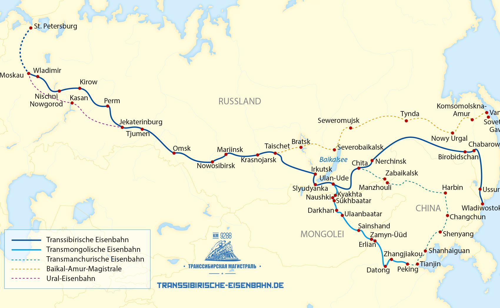 Route Transsib