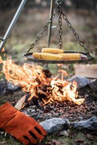 grillen im winter dreibein