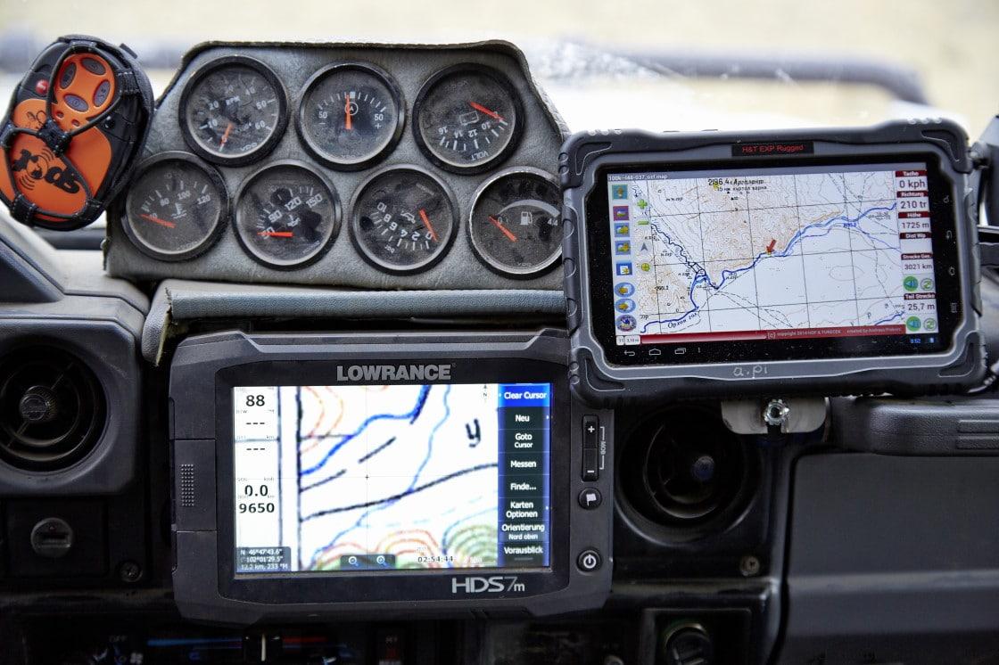 Navigation - damals und heute 4